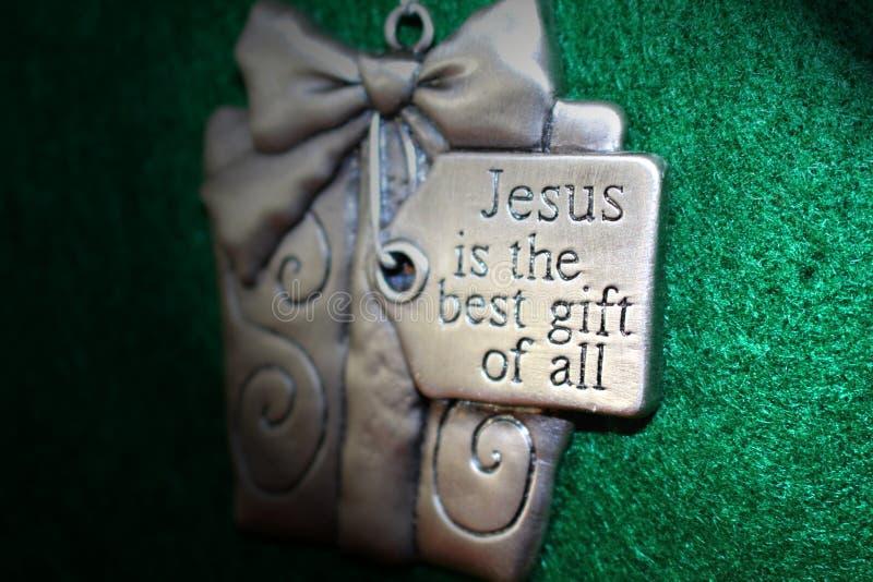 Jezusowy najlepszy prezent wszystko obrazy royalty free