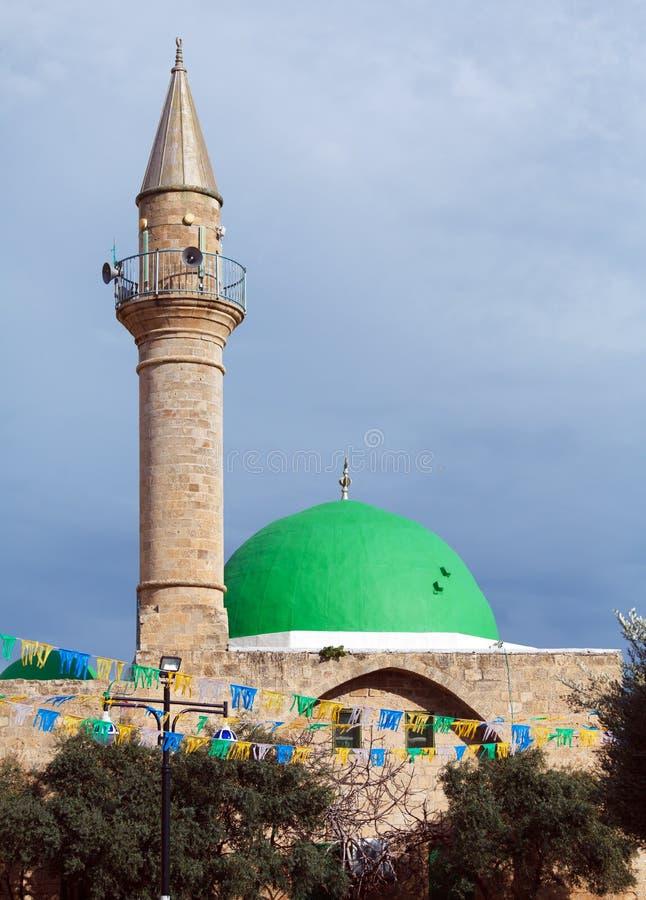 Jezzar巴夏清真寺,英亩 免版税库存图片