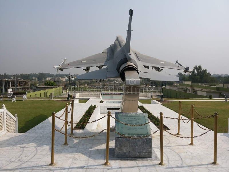 JF-17 grzmotu samolot wojskowy fotografia stock