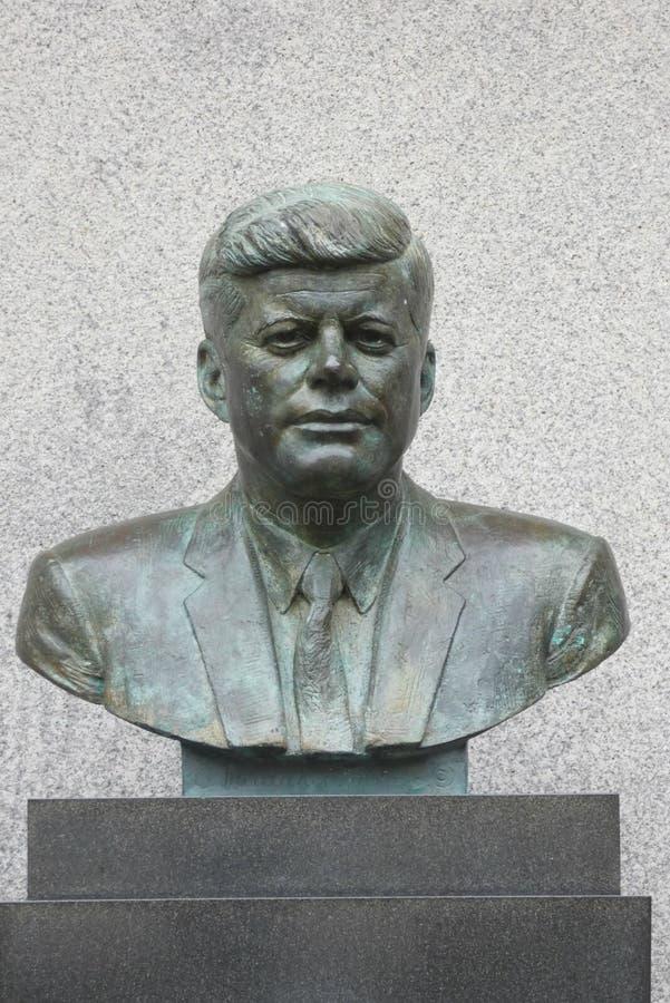 JF Kennedy statua zdjęcie stock