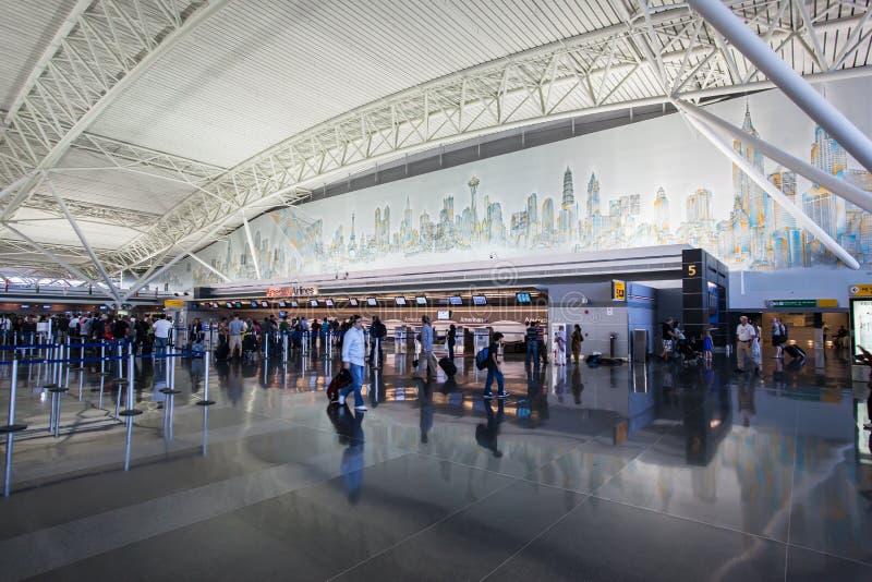 JFK-flygplats New York City arkivbilder