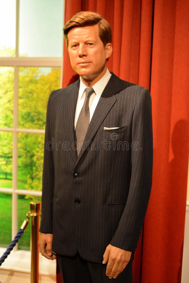 JFK John Fitzgerald Kennedy obraz royalty free