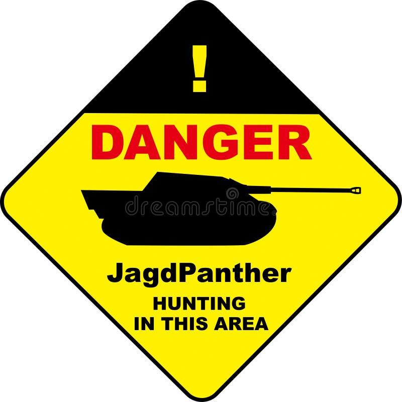 JgPanther znaka projekt obrazy royalty free