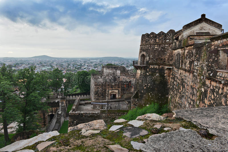 Jhansi fort royaltyfria bilder