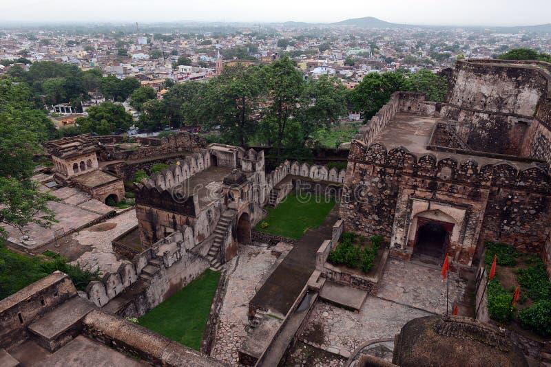 Jhansi fort zdjęcie stock