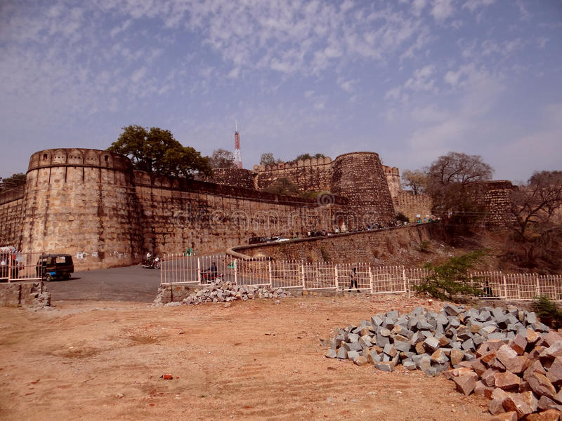 Jhansi fort zdjęcia royalty free