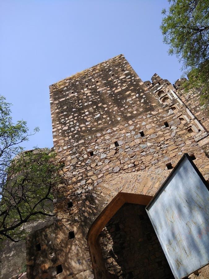 Jhansi fort ranilaxmi bai fotografia royalty free
