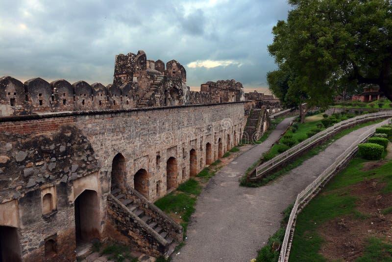 Jhansi Fort stock photography