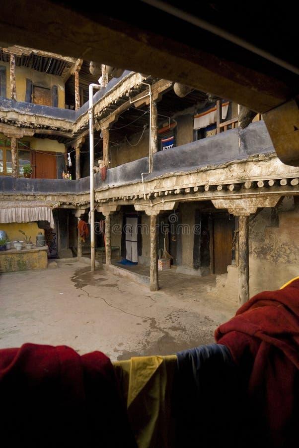 jhokang μοναστήρι Θιβέτ στοκ φωτογραφίες