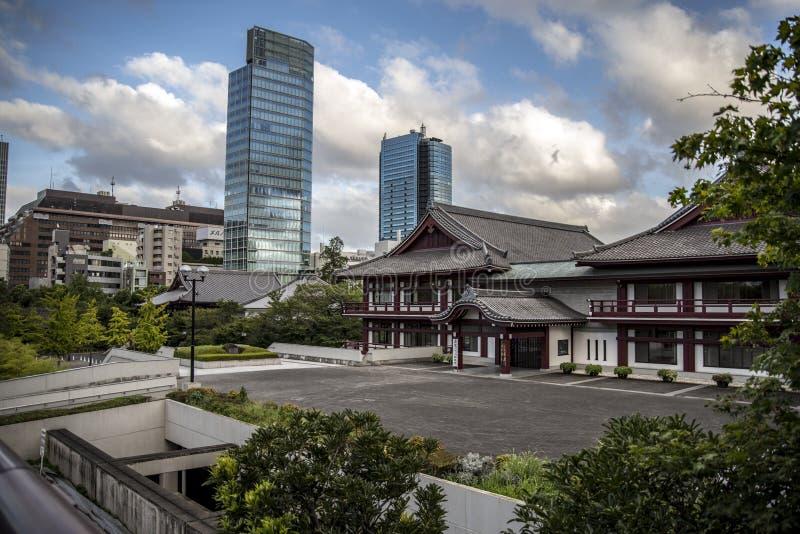 ji寺庙东京zoji 免版税图库摄影
