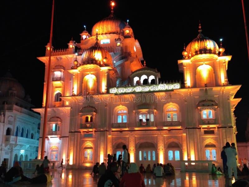 Ji Патна Saheb Takht Shri Harimandir стоковое фото rf