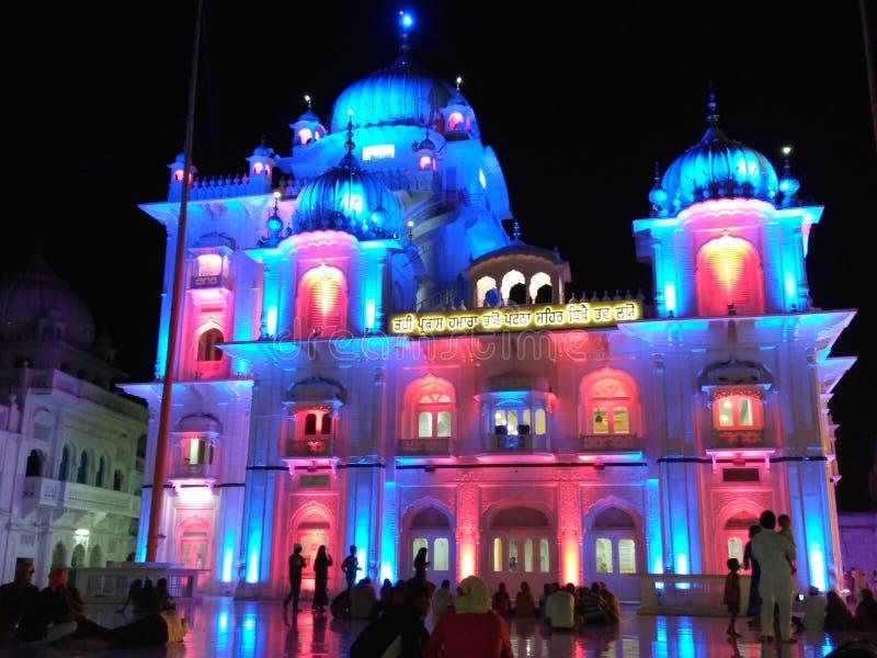 Ji Патна Saheb Takht Shri Harimandir стоковая фотография rf
