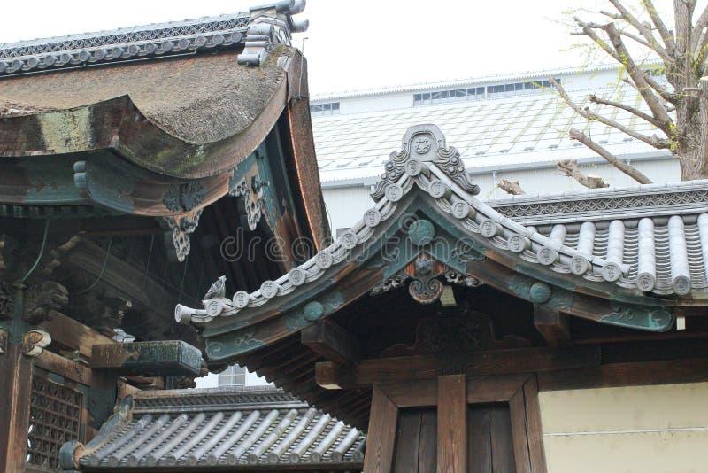 Ji de Nishi Hongan, un temple bouddhiste ? Kyoto photos libres de droits