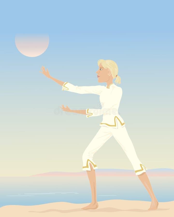 Ji del Tai ilustración del vector