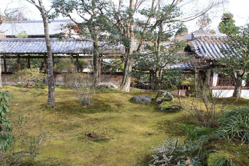 Ji di Tenryu a Kyoto fotografia stock libera da diritti