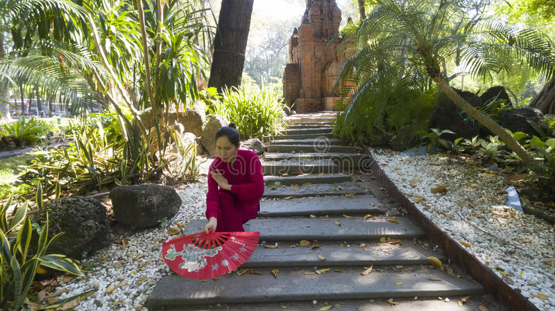 Ji tailandesa imagen de archivo