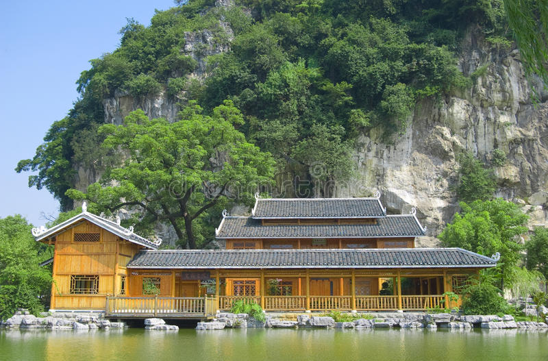 The jiahe college. Was built in the southern song dynasty, is the earliest guangxi academy. located in liuzhou city of china royalty free stock image