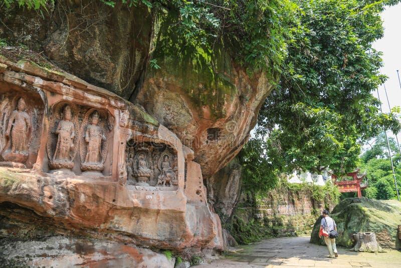Download Jiajiang Thousand Buddha Cliff In Sichuan,china Editorial Photo - Image of jiajiang, china: 43222281
