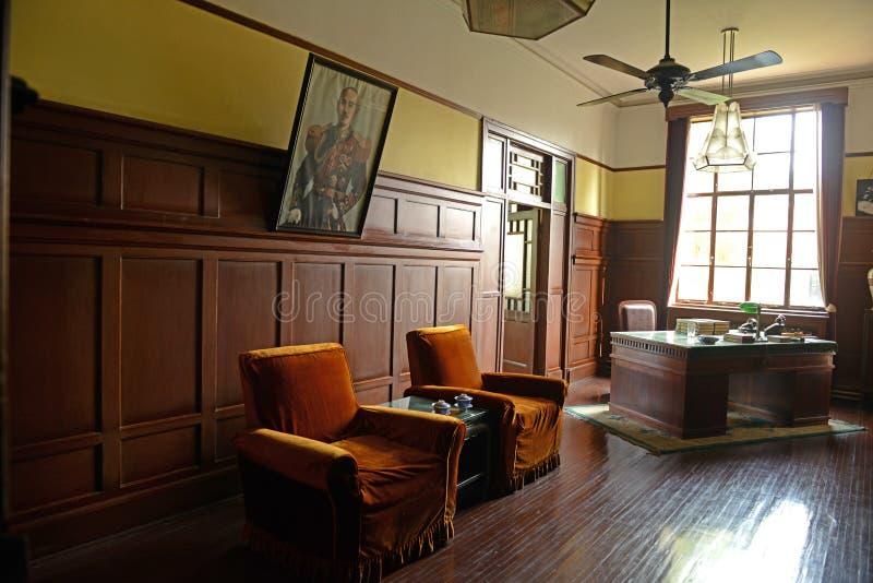Jiang Jieshi Office-President Office-China Nanjing images stock
