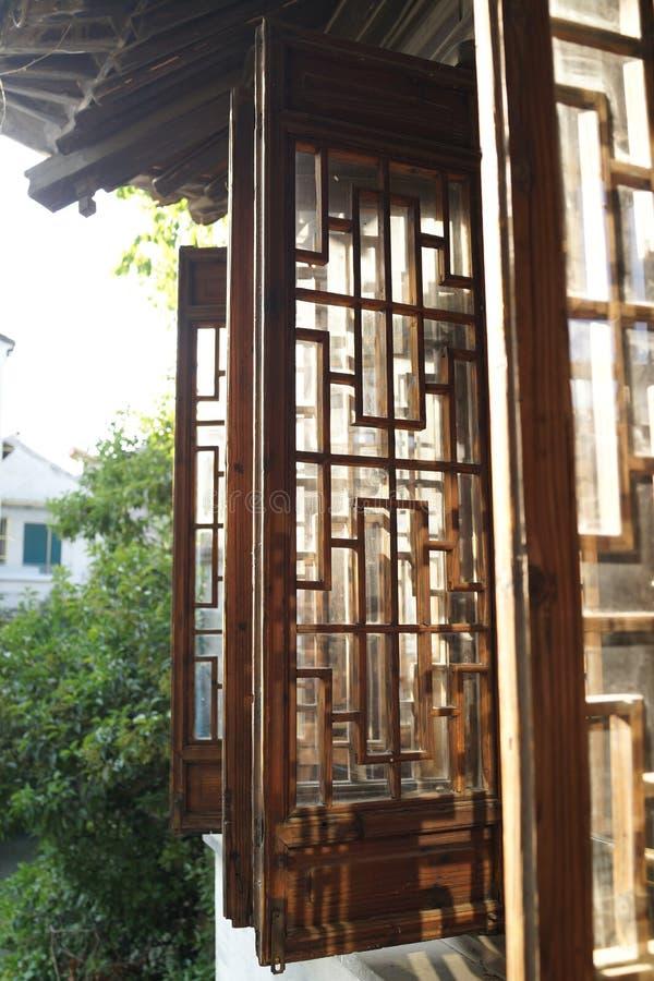 Jiangnan buduje Windows obraz royalty free