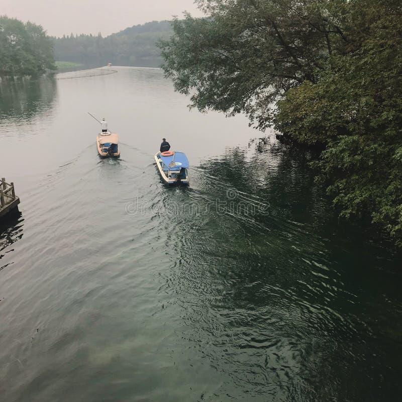Jiangnan wody społeczność miejska obraz stock