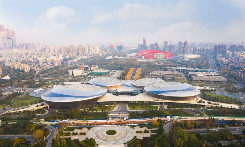 Jiangsu-Mitte für die Künste stockbilder