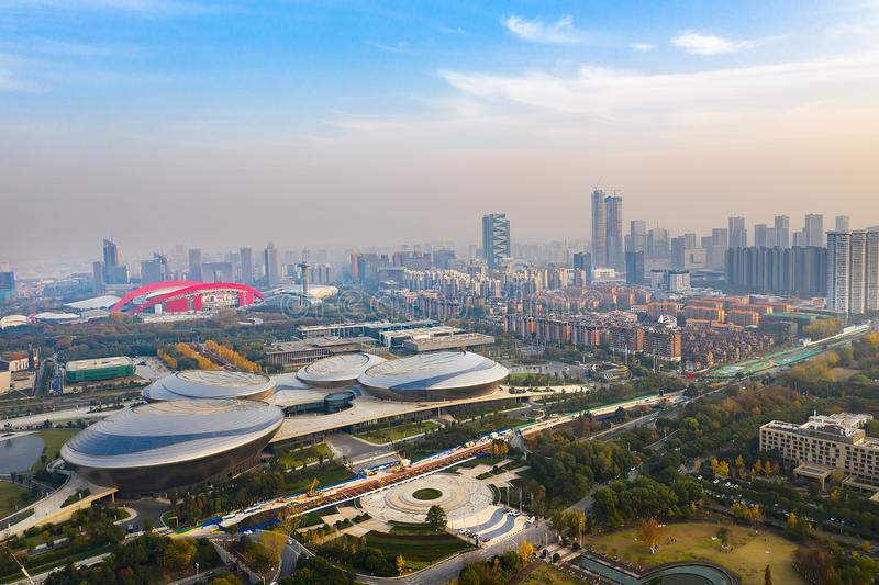 Jiangsu-Mitte für die Künste stockfoto