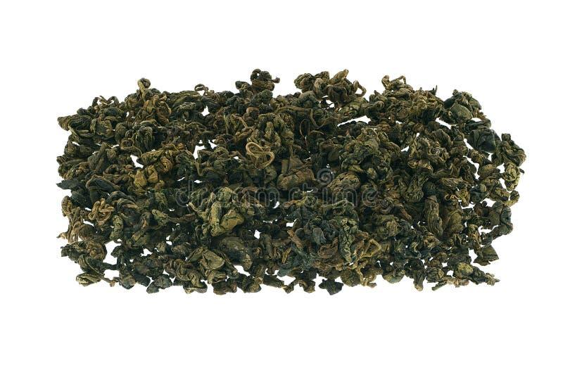 Jiaogulan中国绿茶。 免版税库存图片