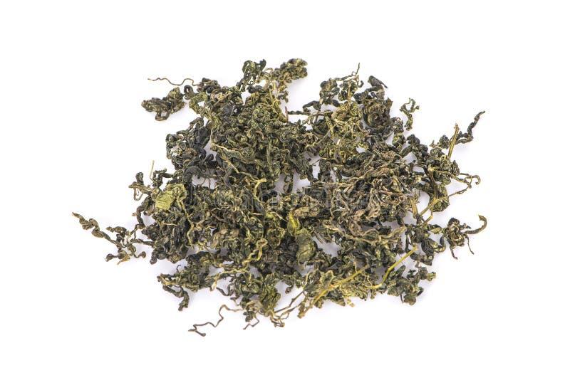 Jiaogulan, grama do milagre, chá de erva chinês foto de stock royalty free