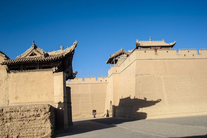 Download Jiayuguan Castle, Gansu Of China Royalty Free Stock Images - Image: 28494699
