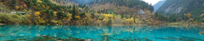 jiazhaigou στοκ φωτογραφίες με δικαίωμα ελεύθερης χρήσης
