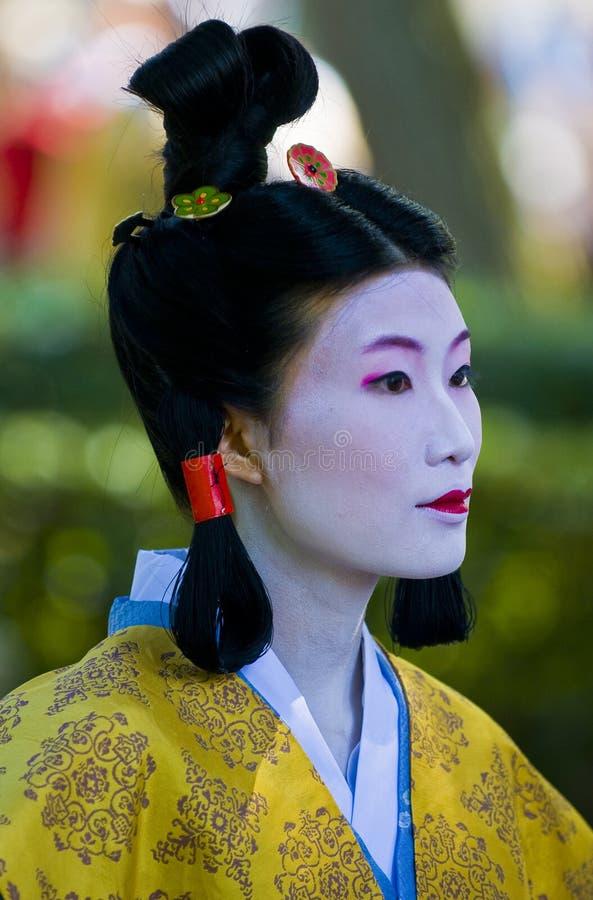 Download Jidai Matsuri  festival editorial image. Image of face - 13826970