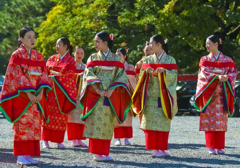 Jidai Matsuri  Festival Editorial Stock Image