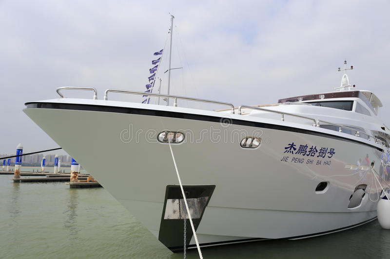 Jiepeng de luxe 18 de yacht photo stock