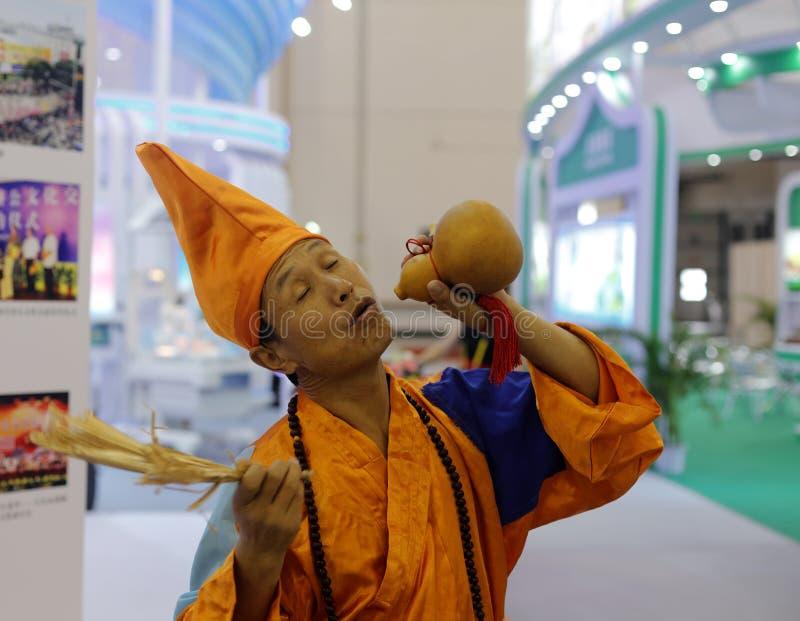 Jigong (monje enojado) foto de archivo