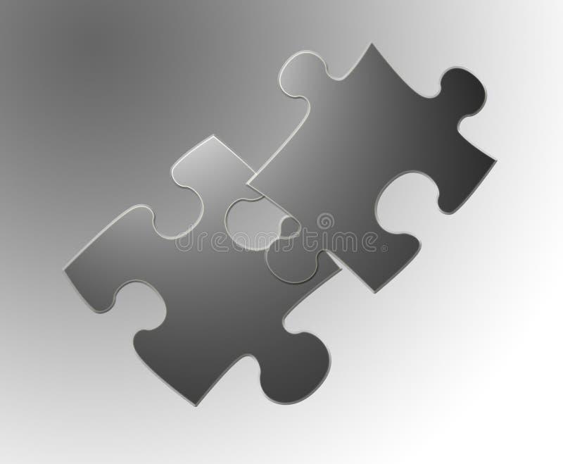 Jigsaw 2 royalty free illustration