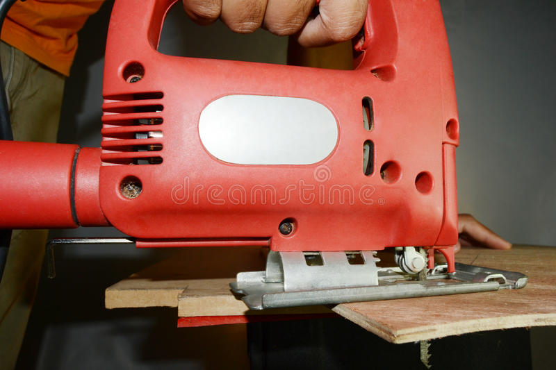 Download Jigsaw stock image. Image of craft, carpenter, hand, manufactured - 33444197