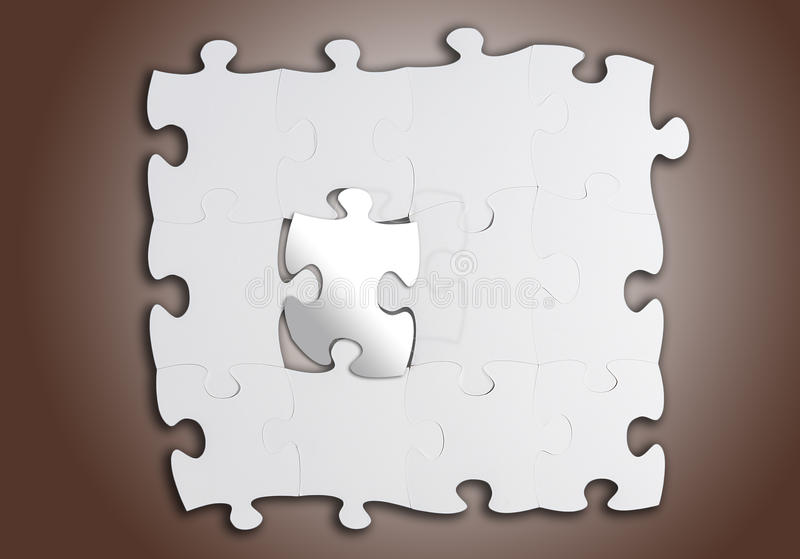Jigsaw royalty free stock photos