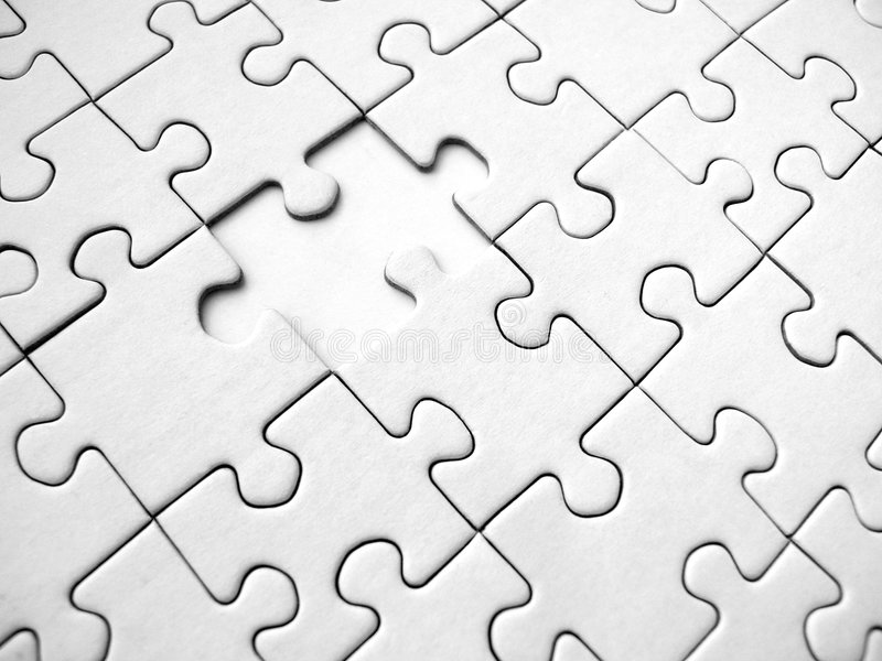 Jigsaw pattern royalty free stock image
