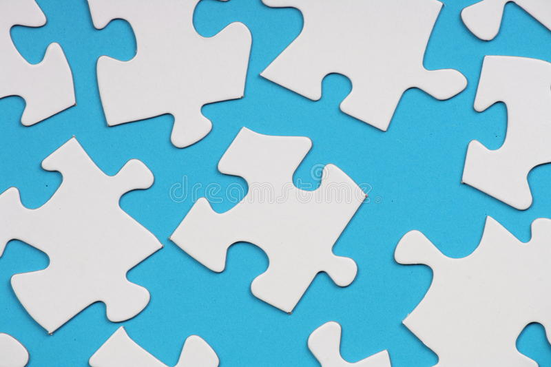 Download Jigsaw Pieces stock image. Image of puzzle, pieces, blue - 24828867