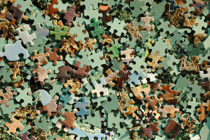 Download Jigsaw puzzle stock photo. Image of pieces, patience - 12870256