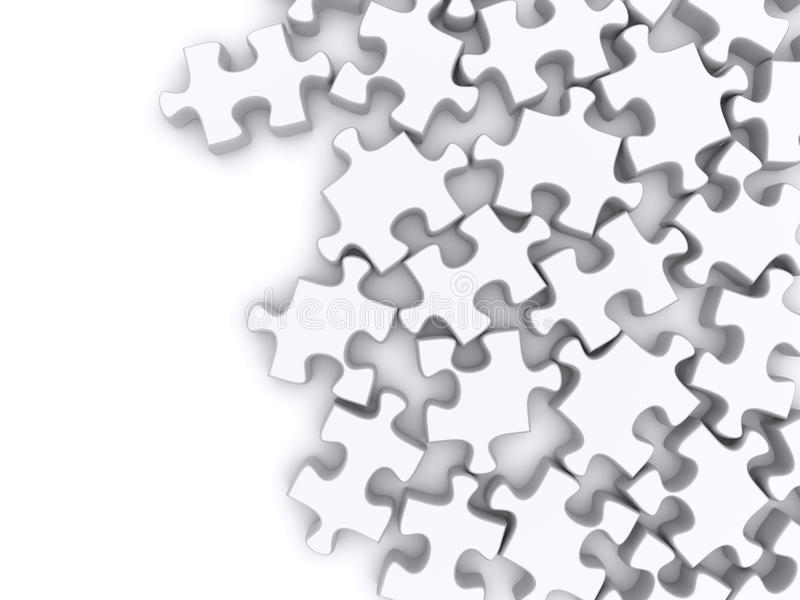 Download Jigsaw puzzle stock illustration. Image of piece, concept - 22750602