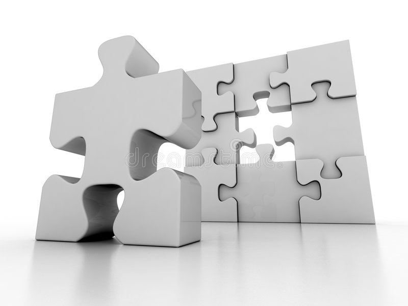 Download Jigsaw Puzzle Stock Photos - Image: 3637163