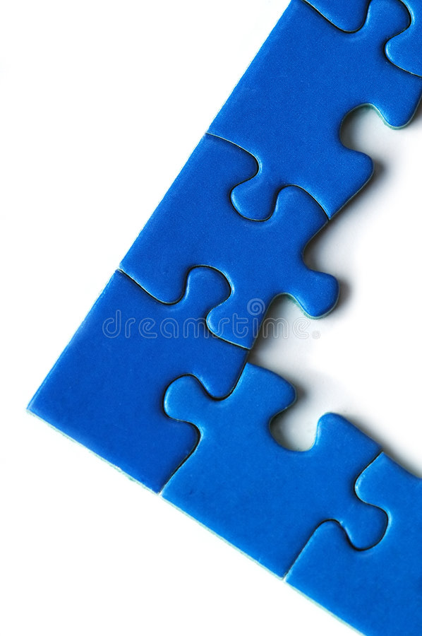 Jigsaw puzzle royalty free stock photos