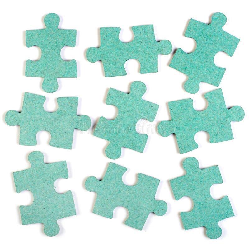 Jigsaw puzzle background royalty free stock image