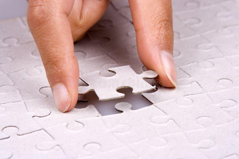 jigsaw puzzle grać zdjęcia royalty free