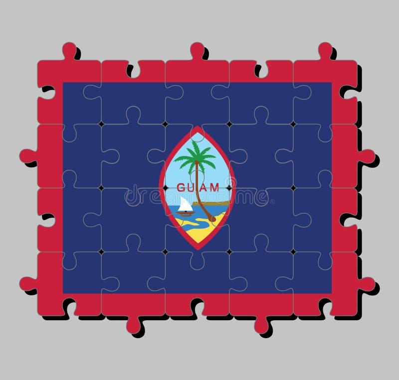 Border Jigsaw Puzzle Stock Illustrations – 367 Border Jigsaw Puzzle ...