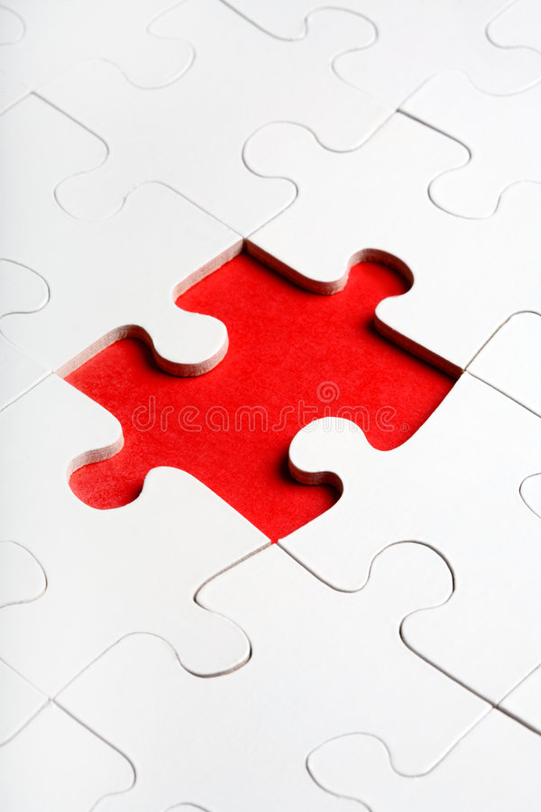 Download Jigsaw Puzzle With The Missing Stock Image - Image of incomplete, games: 3520703