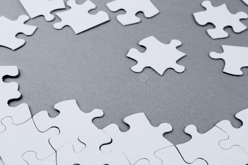 Download Jigsaw puzzle pieces stock image. Image of teamwork, team - 28632353