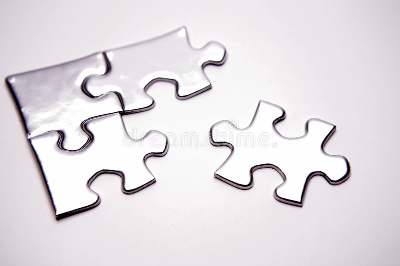 Download Jigsaw puzzle pieces stock photo. Image of contacts, jigsaw - 4143466